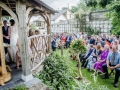 wedding in walled garden