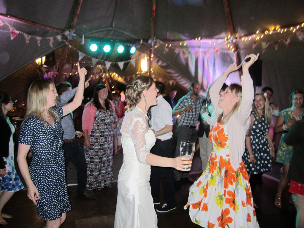 dancing in the tipi