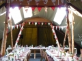 tipi layout for reception