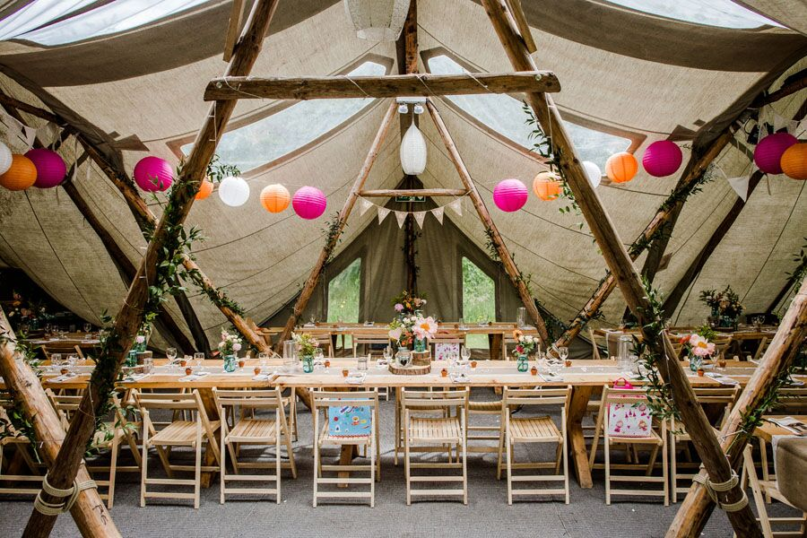 tipi set up 2