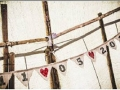 bunting in the tipi