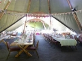 more benches in the tipi